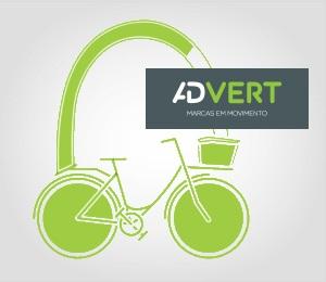 A sua Publicidade a pedalar