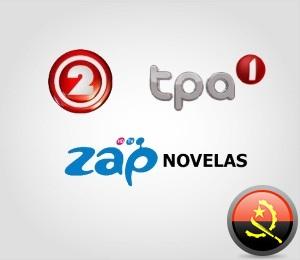 Televisão em Angola
